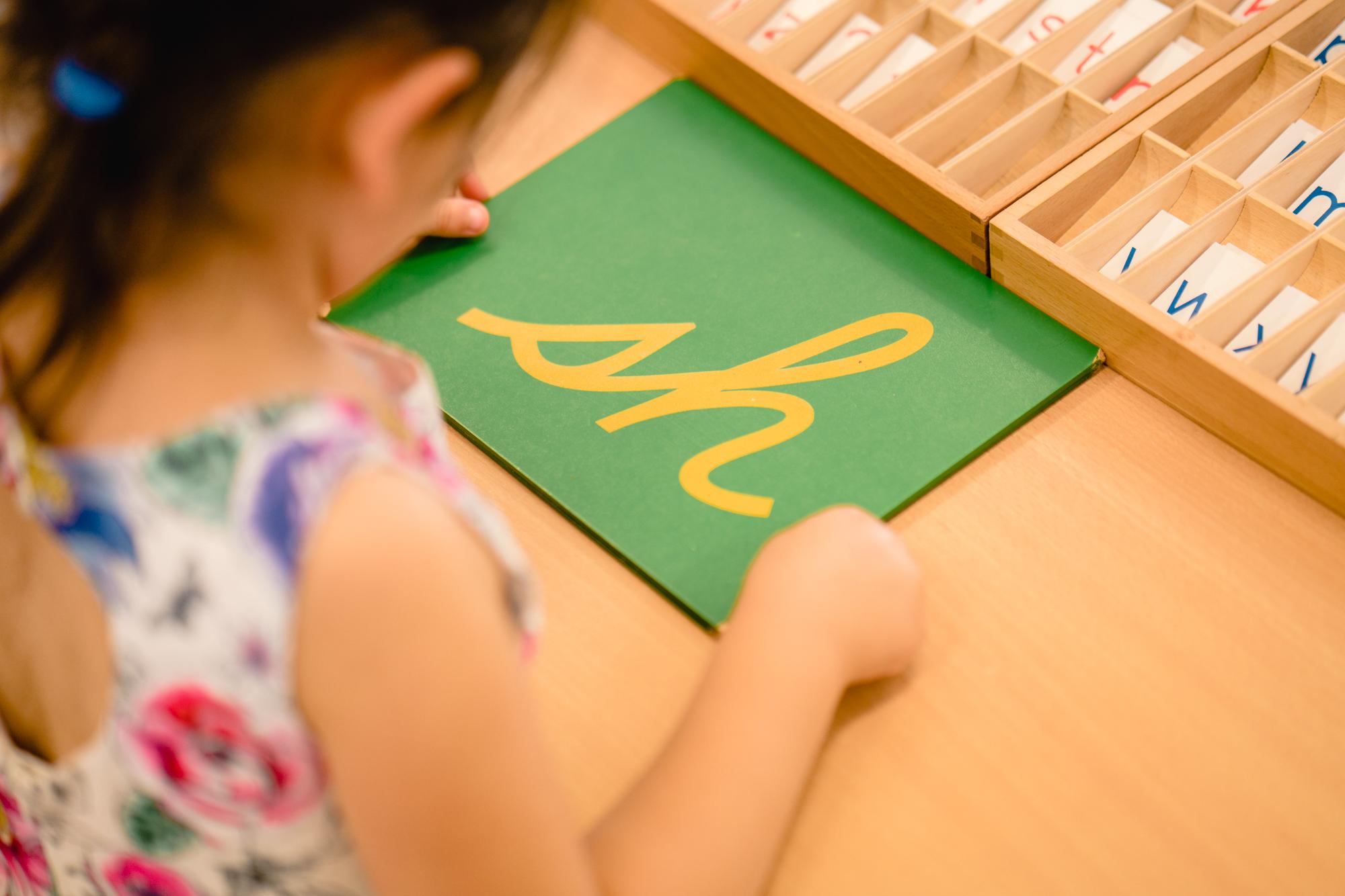 Students at the Plenty Valley International Montessori School St Helena Melbourne